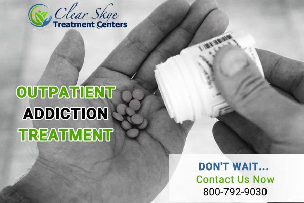 Opiate Outpatient addiction treatment