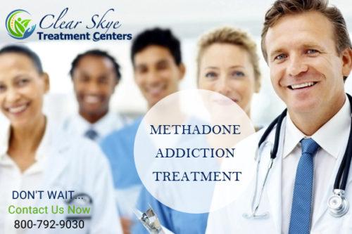 Methadone addiction treatment clinic